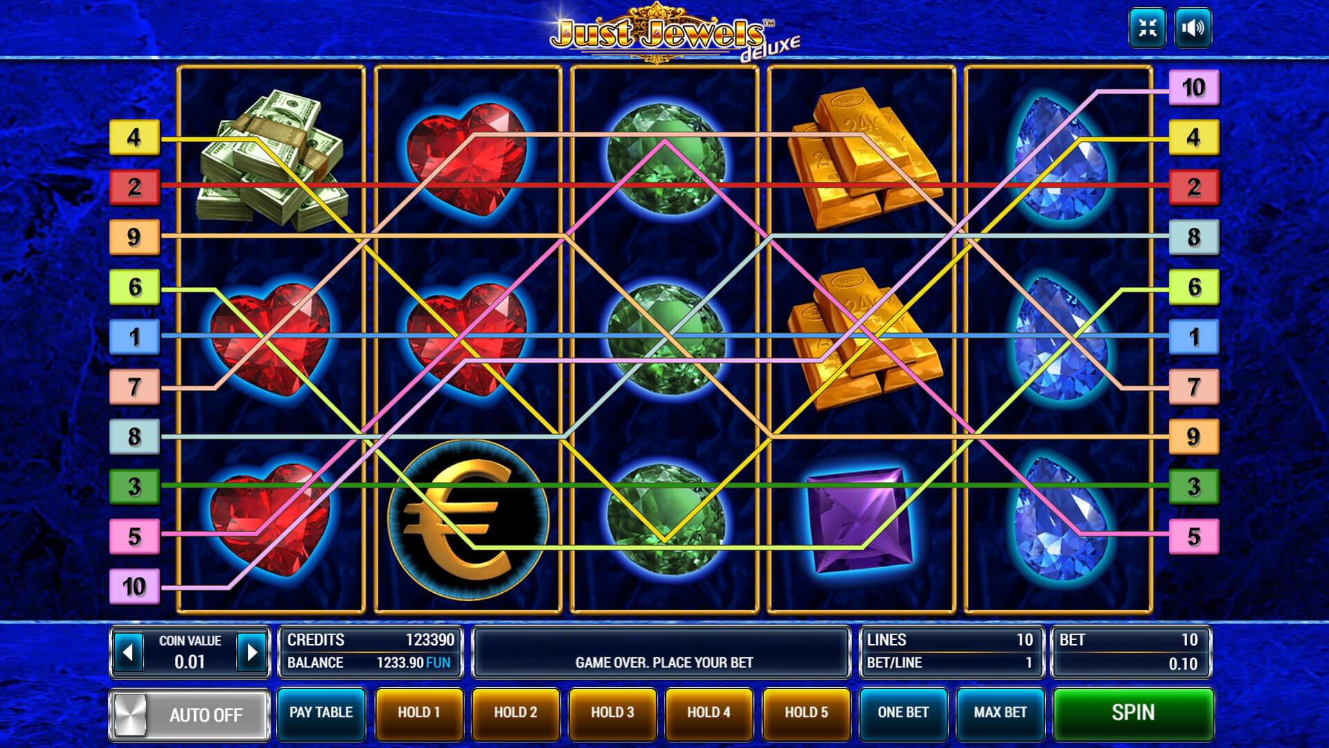 Изображение игрового автомата Just Jewels Deluxe 2