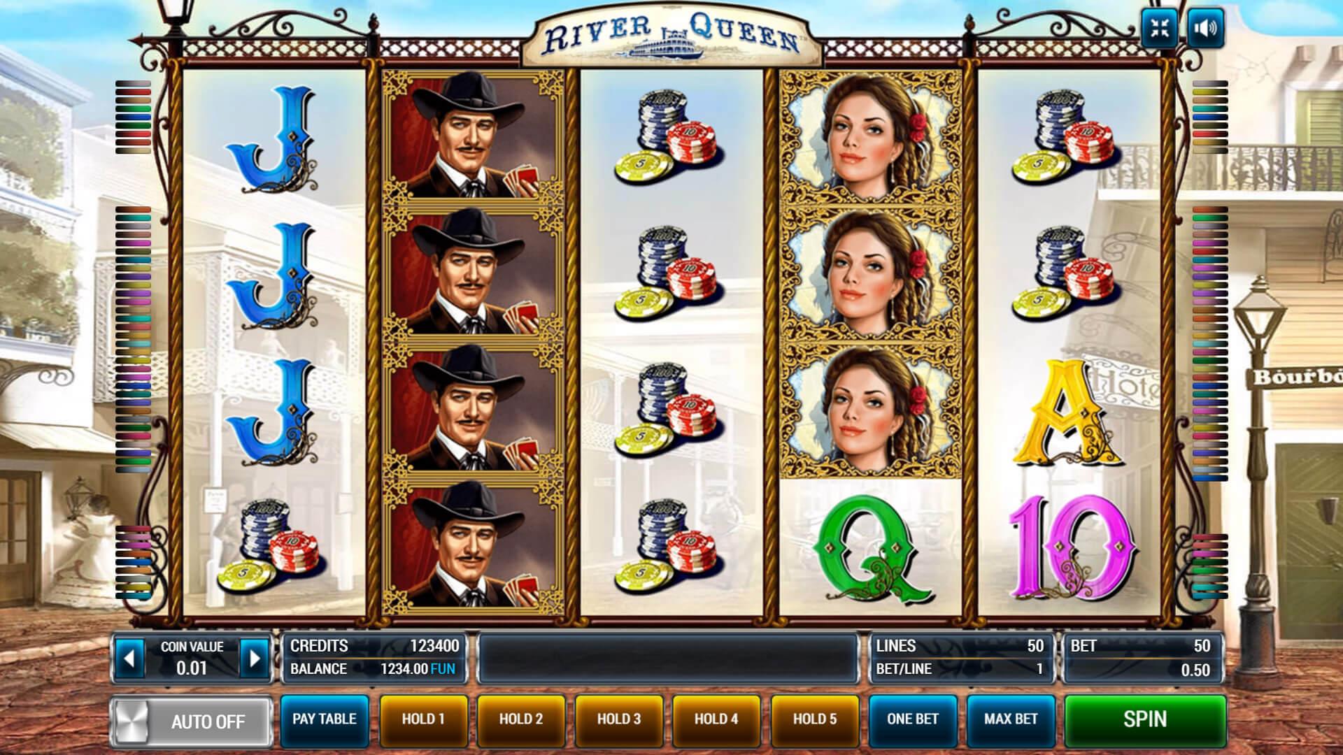 Изображение игрового автомата River Queen 1