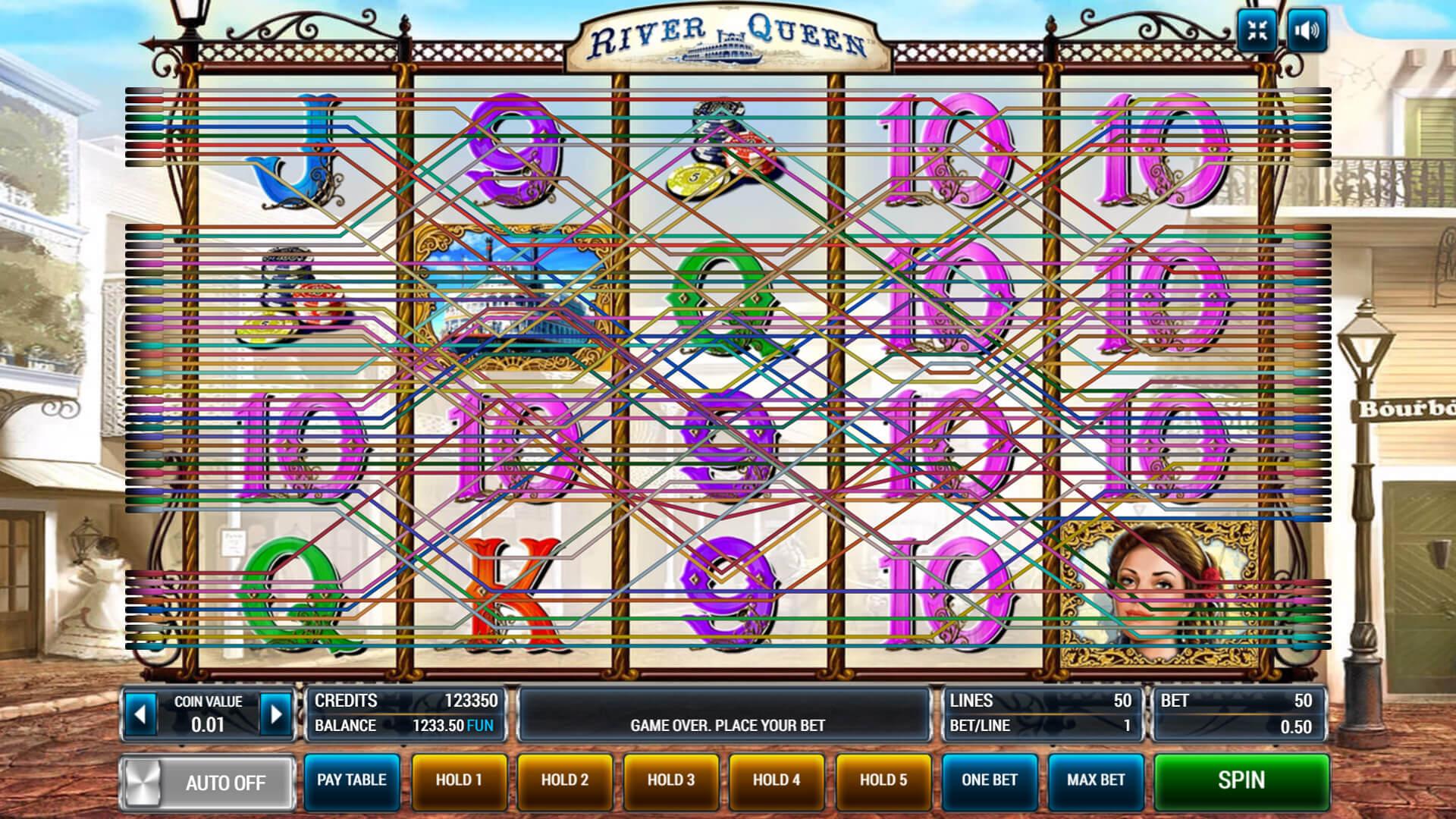 Изображение игрового автомата River Queen 2