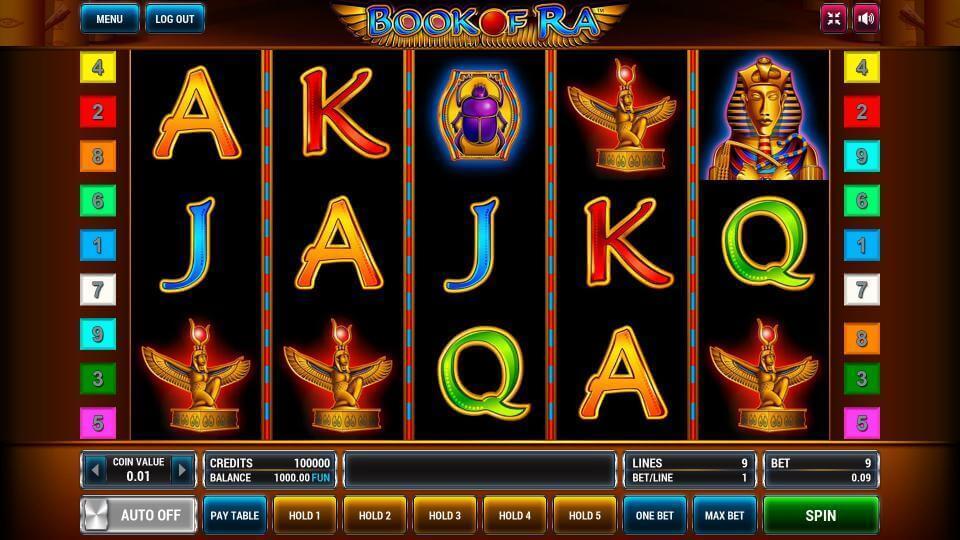 Изображение игрового автомата Book of Ra 2