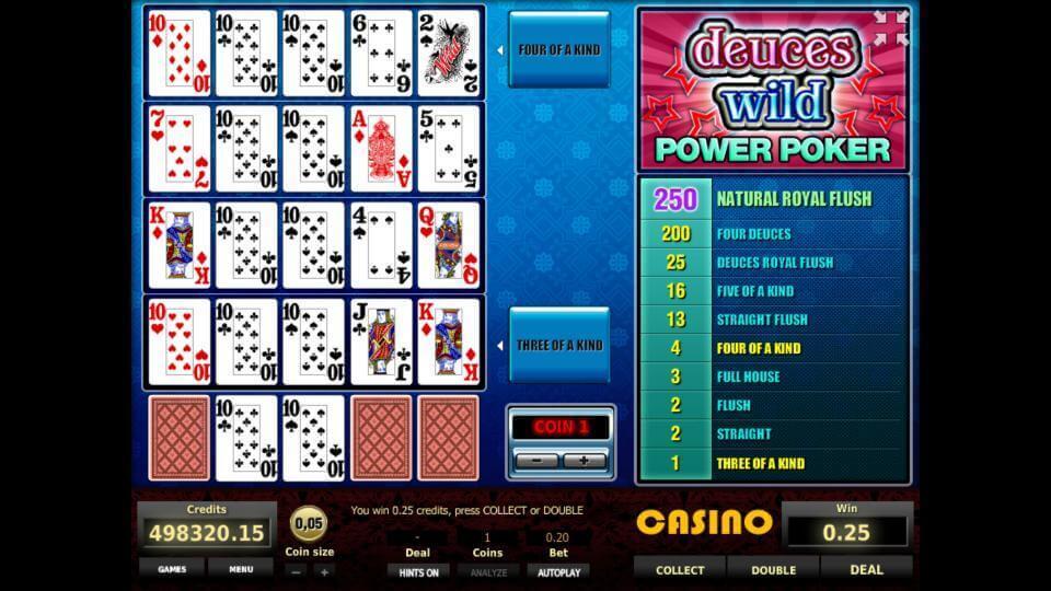 Изображение игрового автомата Deuces Wild 4-Hand Poker 2
