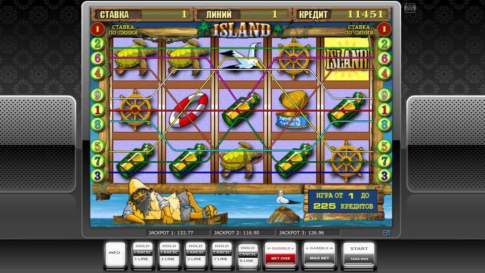 Изображение игрового автомата Island 1