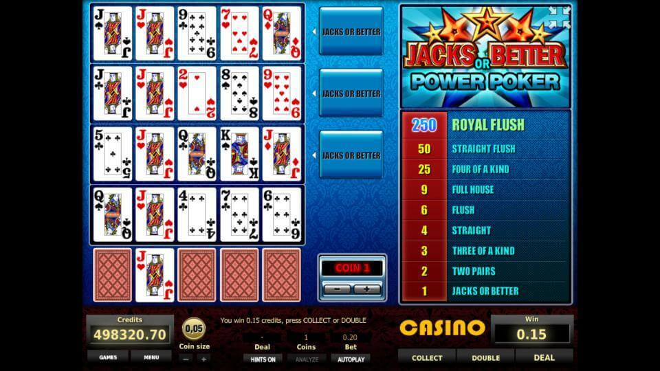 Изображение игрового автомата Jacks or Better 4-Hand Poker 2