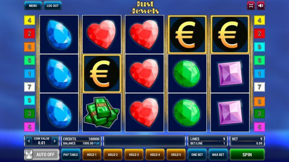 Изображение игрового автомата Just Jewels 2