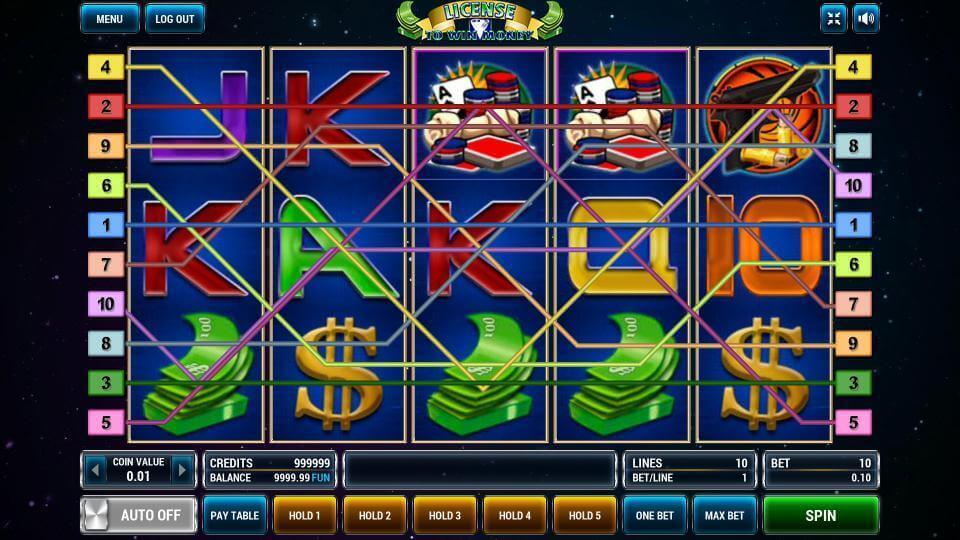 Изображение игрового автомата License To Win Money 1