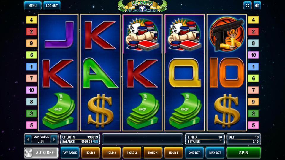 Изображение игрового автомата License To Win Money 2