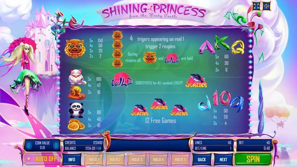 Изображение игрового автомата Shining Princess 3