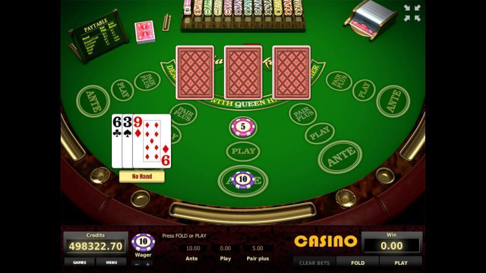 Изображение игрового автомата Three Card Poker 2