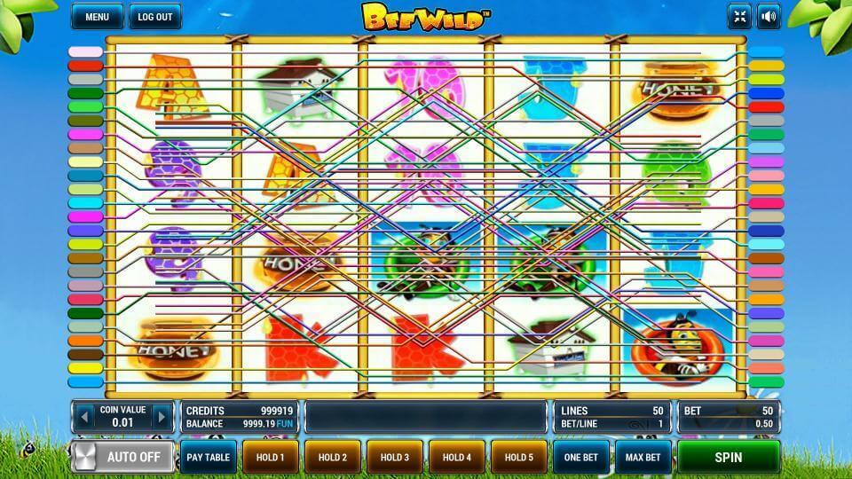 Изображение игрового автомата Bee Wild 1