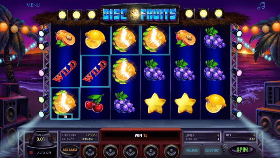 Изображение игрового автомата Disco Fruits 2