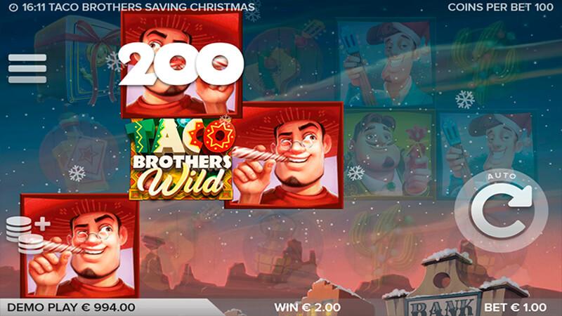 Изображение игрового автомата Taco Brothers Saving Christmas 3