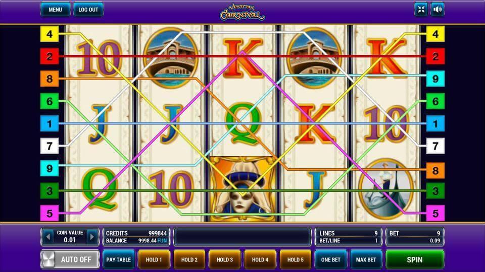 Изображение игрового автомата Venetian Carnival 1
