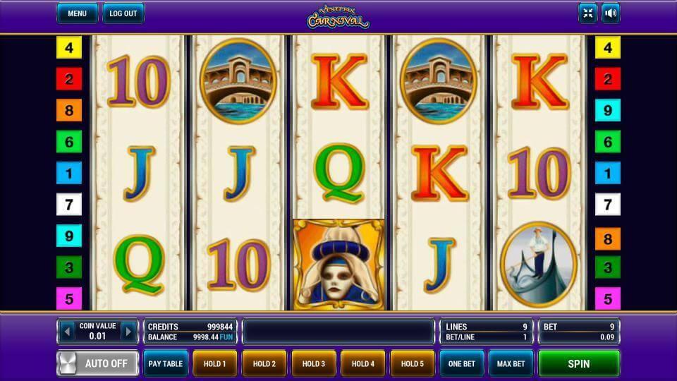 Изображение игрового автомата Venetian Carnival 2
